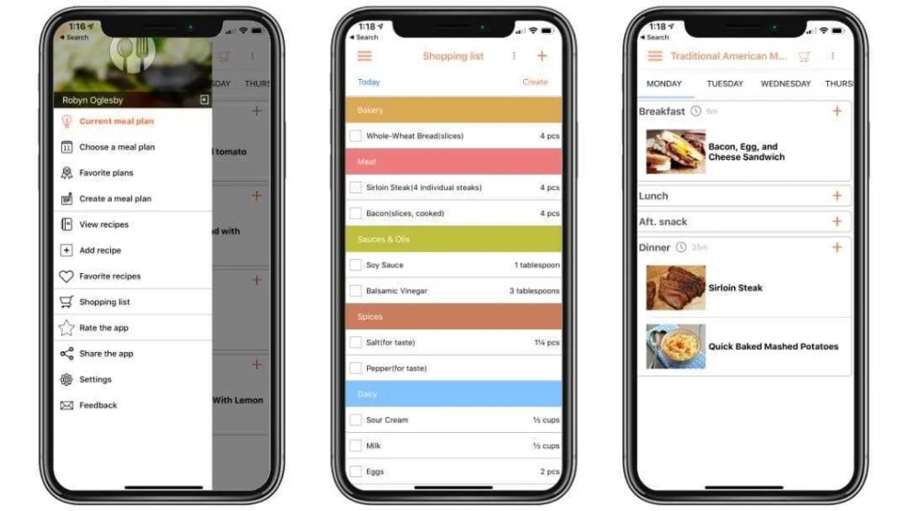 Recipe Calendar for iOS REVIEW