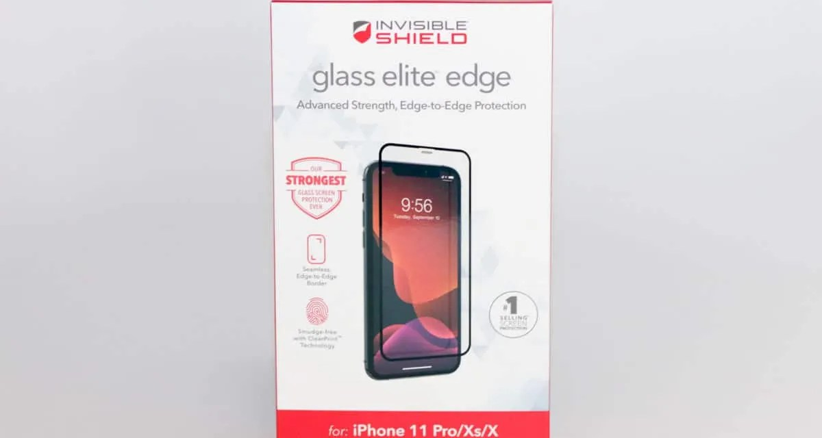 INVISIBLESHIELD GLASS ELITE EDGE SCREEN PROTECTOR REVIEW