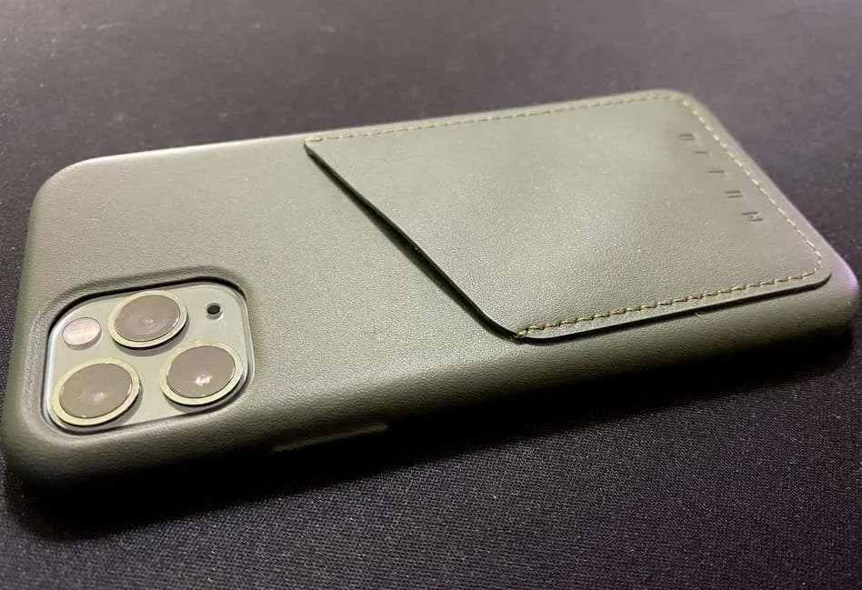 MUJJO LEATHER WALLET CASE REVIEW