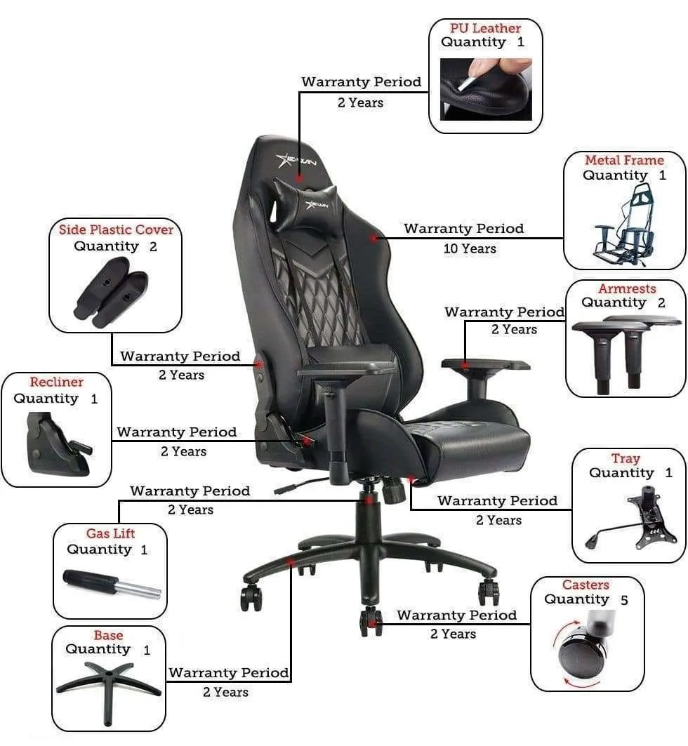EWIN FLASH XL SERIES GAMING CHAIR Revisited
