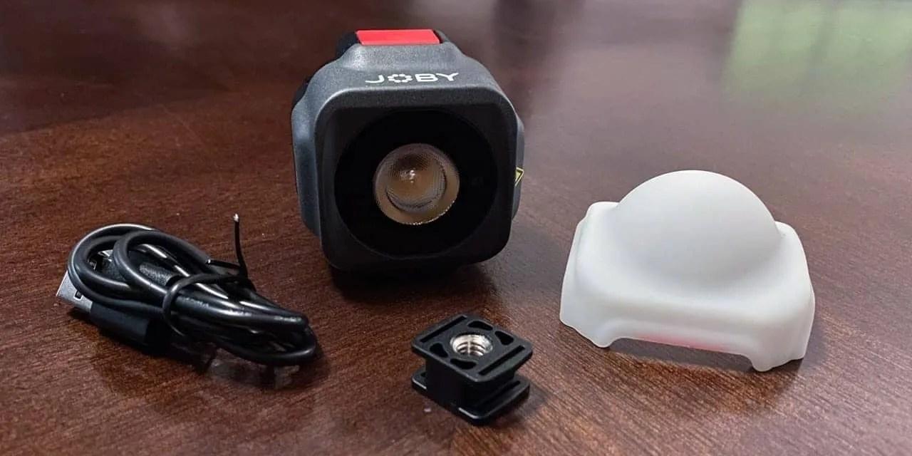 Joby Beamo Portable led light review