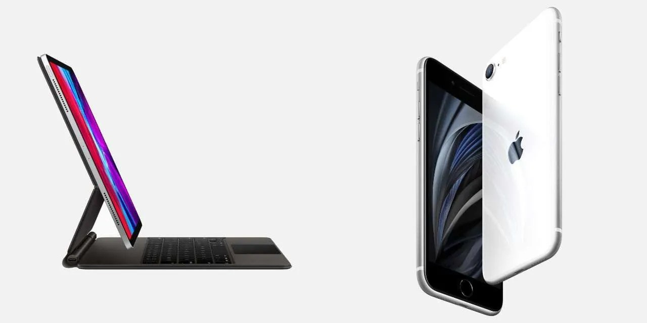 Apple Releases the iPhone SE and New Magic Keyboard for iPad Pro NEWS