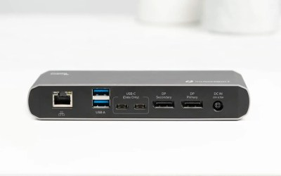Plugable's New Thunderbolt 3 Dual Display Docking Station Streamlines Connectivity for Thunderbolt and USB-C Devices NEWS