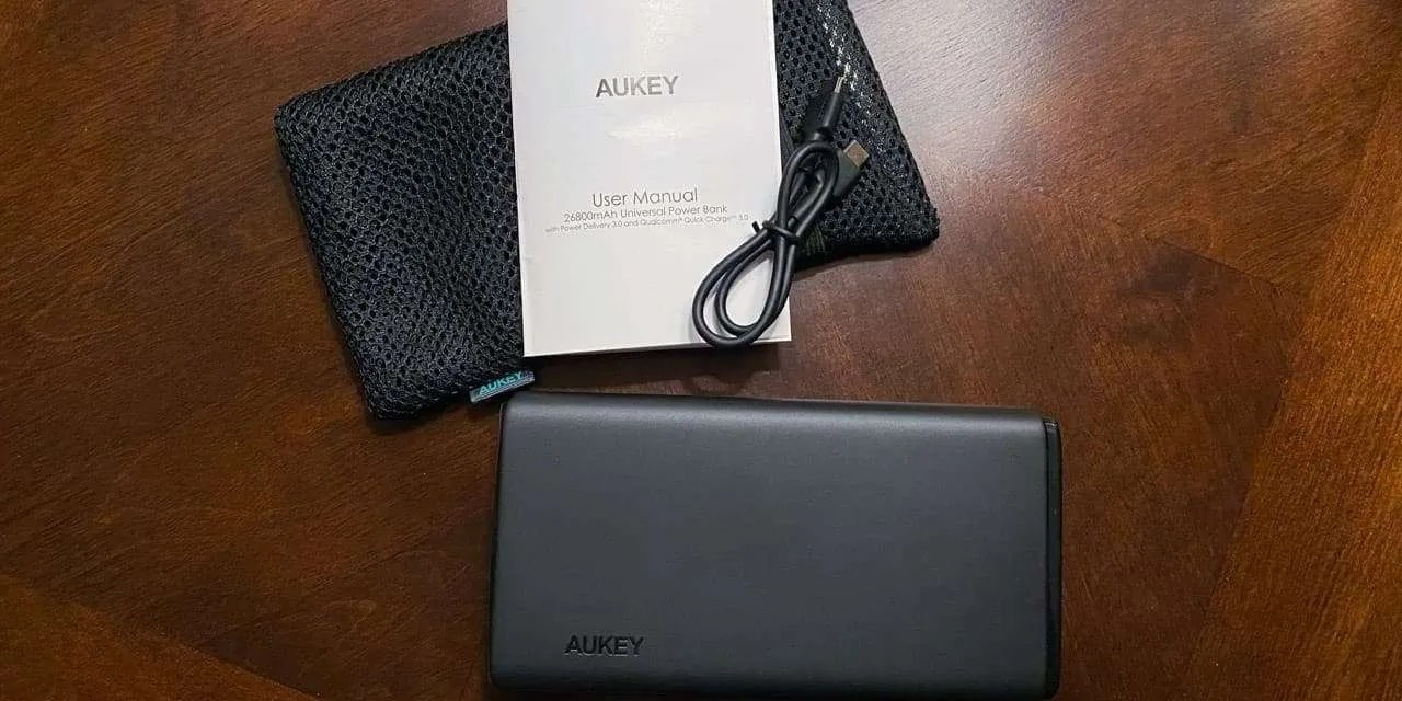 AUKEY PB-Y24 65W PD Power Bank REVIEW