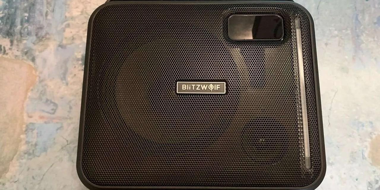 BlitzWolf BW-KS1 Bluetooth Party Karaoke Speaker REVIEW