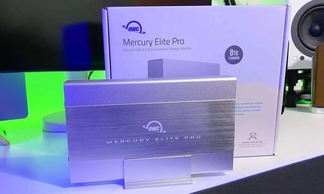 OWC MERCURY ELITE PRO 3.5-INCH USB 3.2GB/S EXTERNAL STORAGE SOLUTION