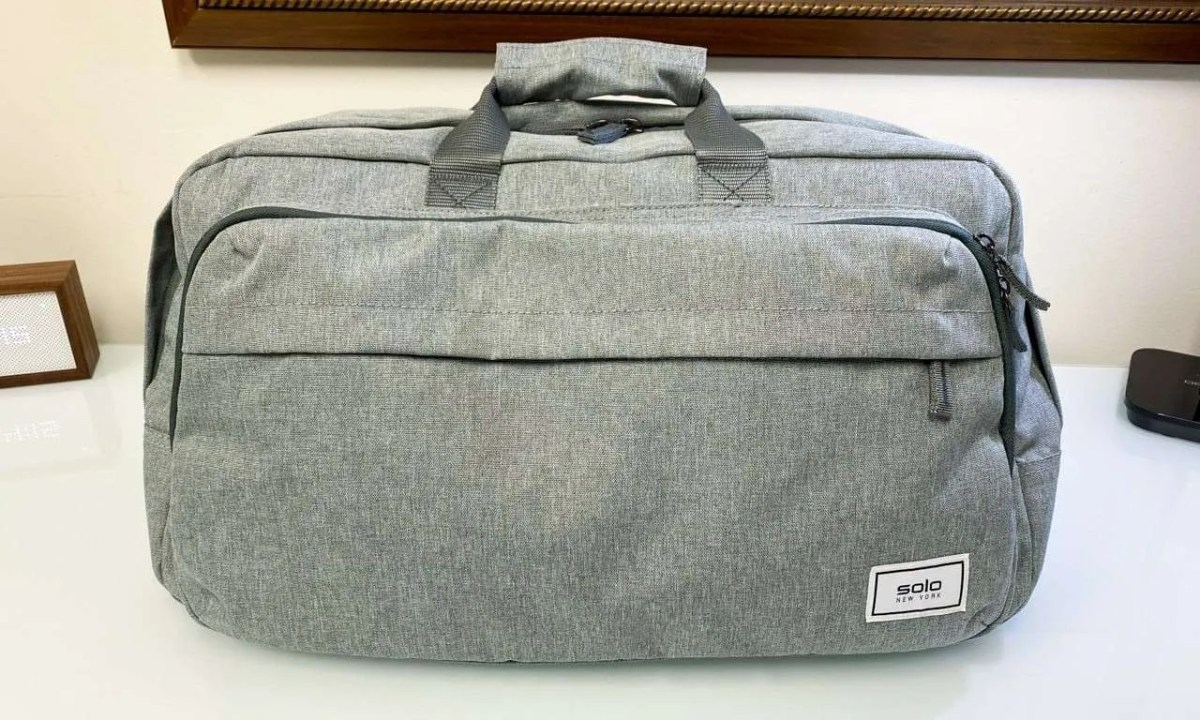 Solo New York Re:Move Duffel Bag One Size Grey