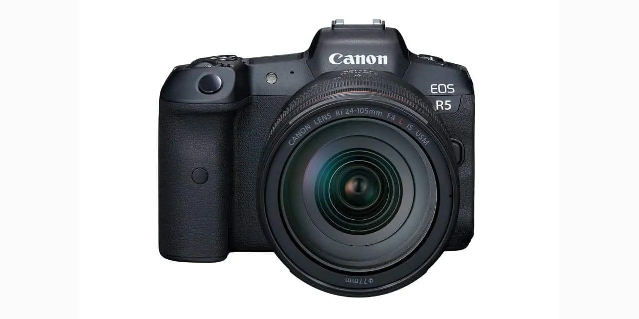 Canon Officially Announces The Canon EOS R5 and R6 NEWS