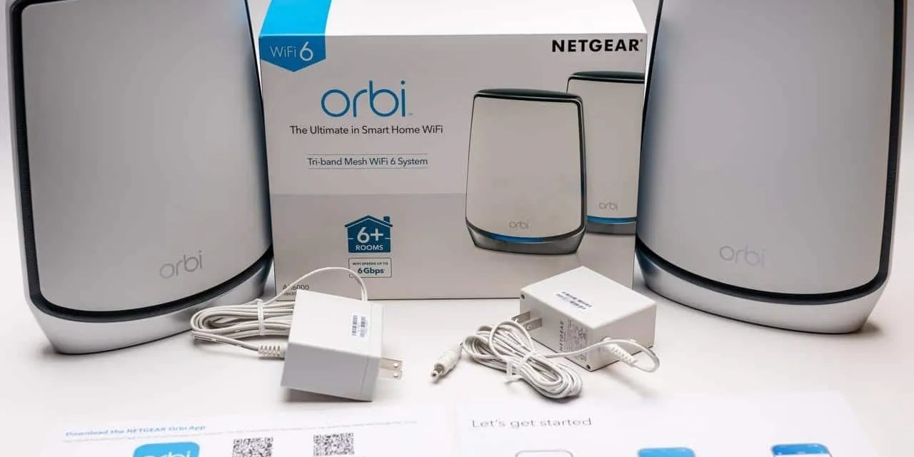 NETGEAR Orbi WiFi 6 Mesh Router REVIEW The Best Just Got Better
