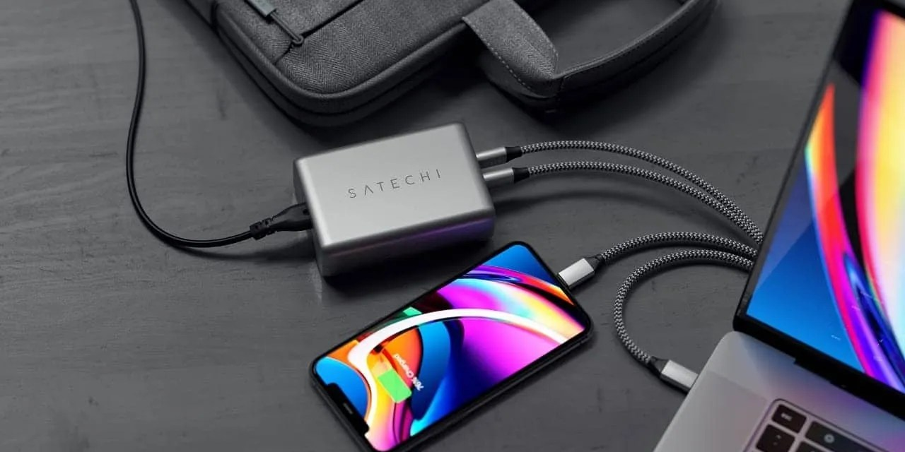 Satechi Launches Its First GaN Charger NEWS