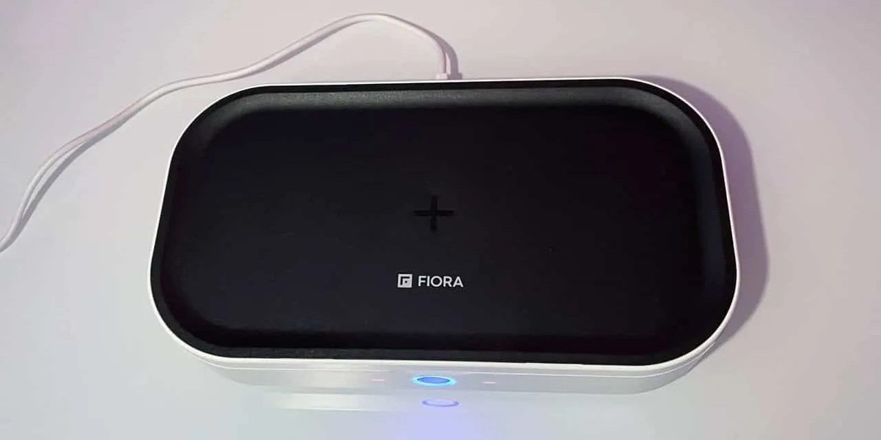 FIORA Ultraviolet C Sterilizer and Wireless Charging Station REVIEW