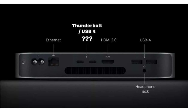 "OWC Explains: What Is Apple's ""Thunderbolt / USB 4"" vs. PC-Windows Thunderbolt 4? NEWS"