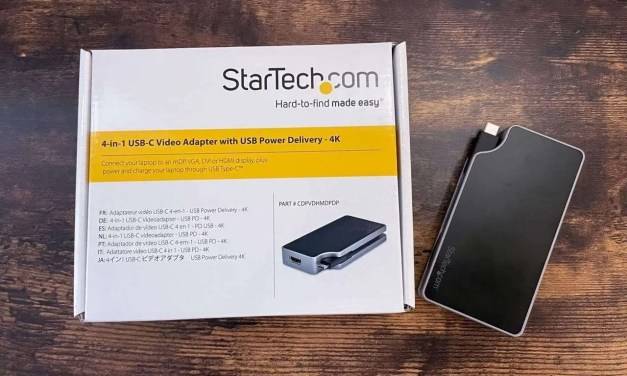 StarTech.com 4-in-1 USB-C 4K Video Adapter with USB Power Delivery REVIEW