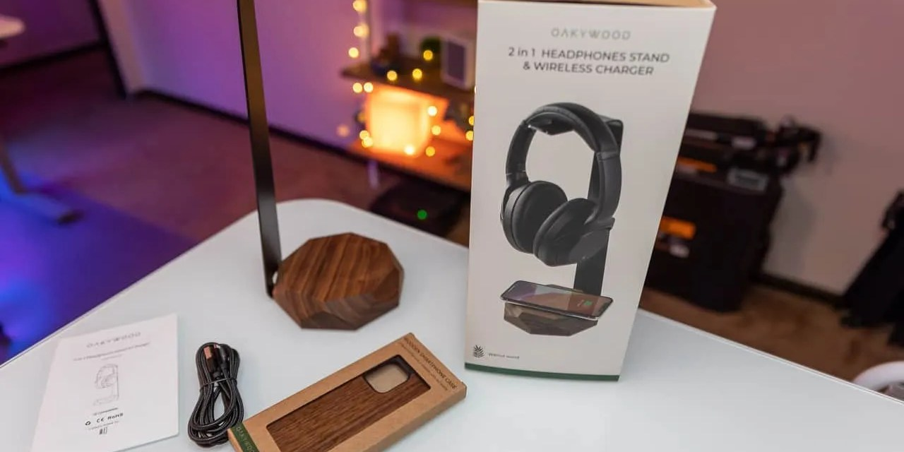 OAKYWOOD 2-in-1 Headphone Stand and Wooden Smartphone Case REVIEW