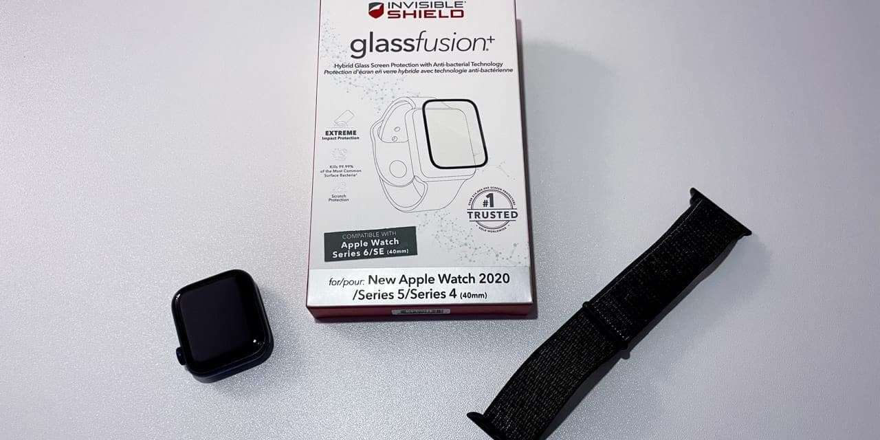 InvisibleShield GlassFusion+ Screen Protector for Apple Watch REVIEW