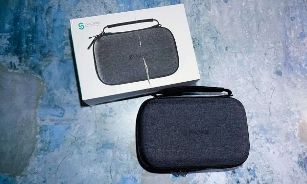 Syncwire Accessories Travel Case REVIEW