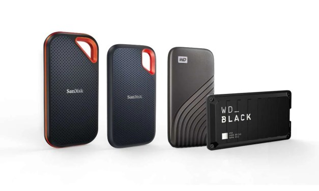 WESTERN DIGITAL DELIVERS LINE UP OF HIGH-CAPACITY PORTABLE SSDs NEWS
