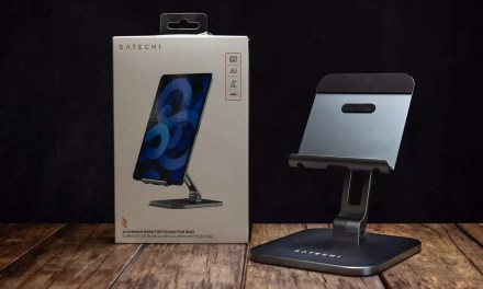 Satechi Aluminum Desktop Stand for iPad REVIEW