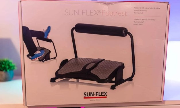 Sun-Flex Ergonomic Height Angle Adjustable Footrest REVIEW