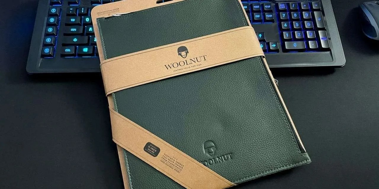 Woolnut Leather Folio for iPad Pro REVIEW