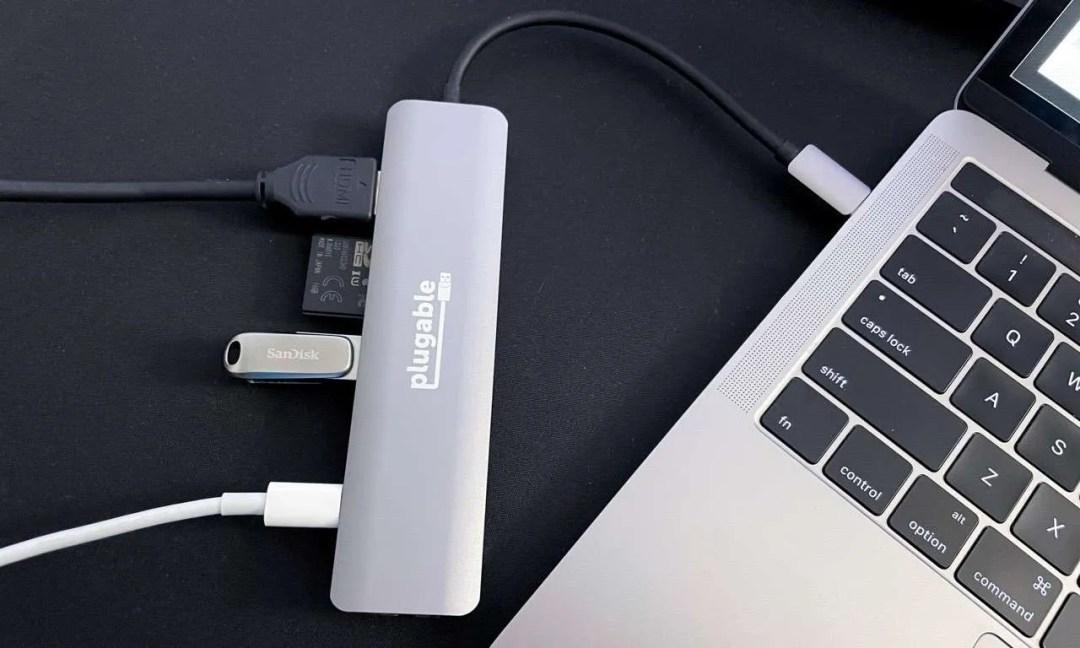 iPad Pro and iPad Air USB C Hub 2021