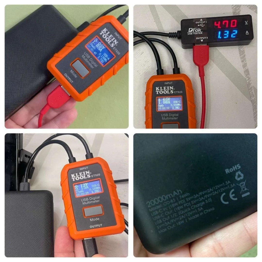 ODEC 20,000 MAH USB-C POWER BANK