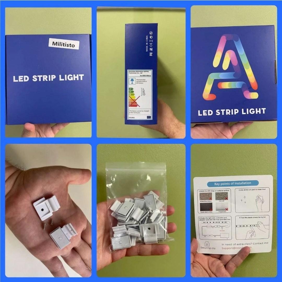 MILITISTO LED STRIP LIGHTS Package