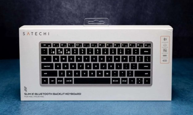 Satechi X1 Bluetooth Backlit Keyboard REVIEW