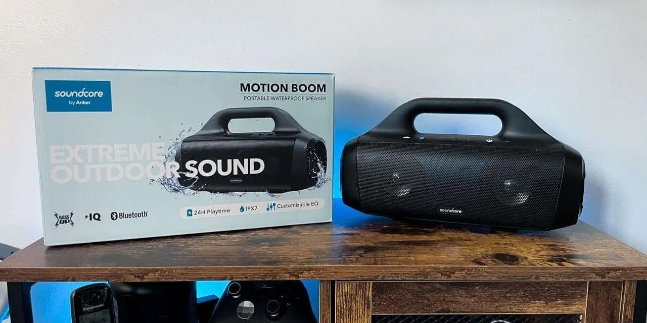 SoundCore Motion Boom Bluetooth Speaker REVIEW