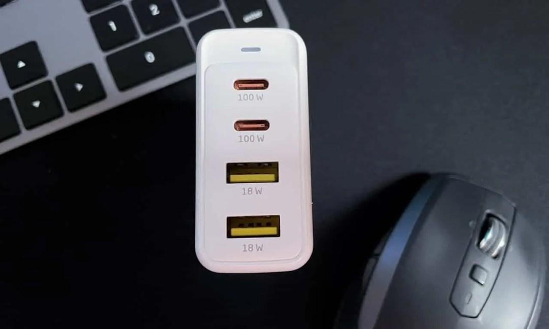 Xcellon PDG-4100W Mighty Mini 4-port 100W GaN USB Charger
