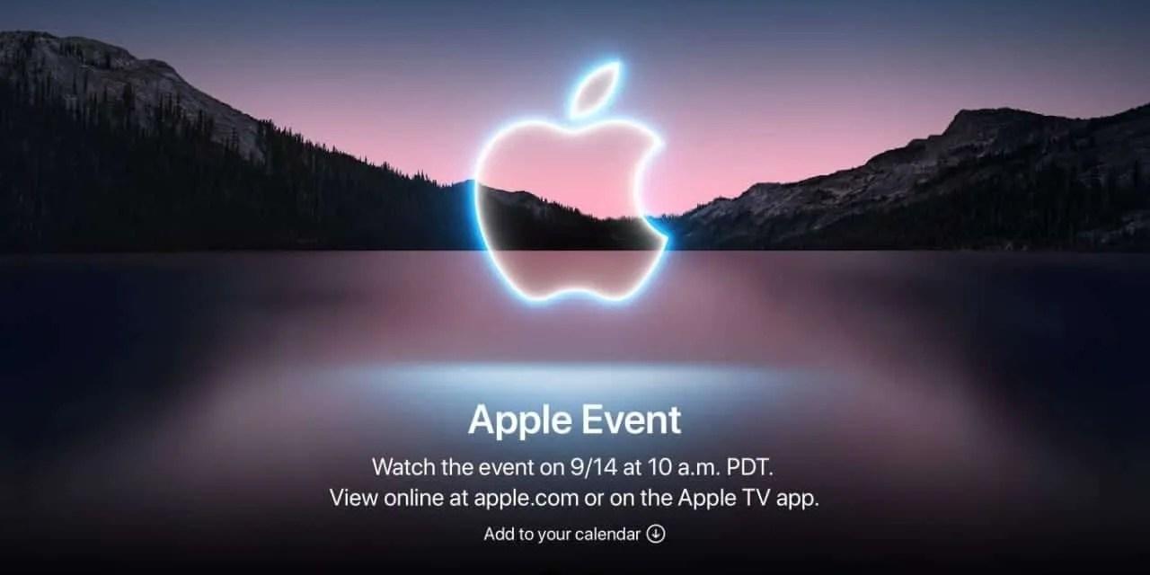 Apple Announces Fall '21 Event NEWS