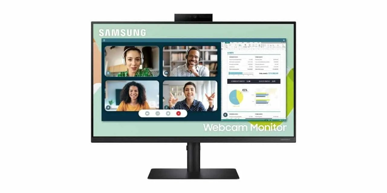 Samsung's First Webcam Monitor for Hybrid Workers is Available for Purchase Now NEWS