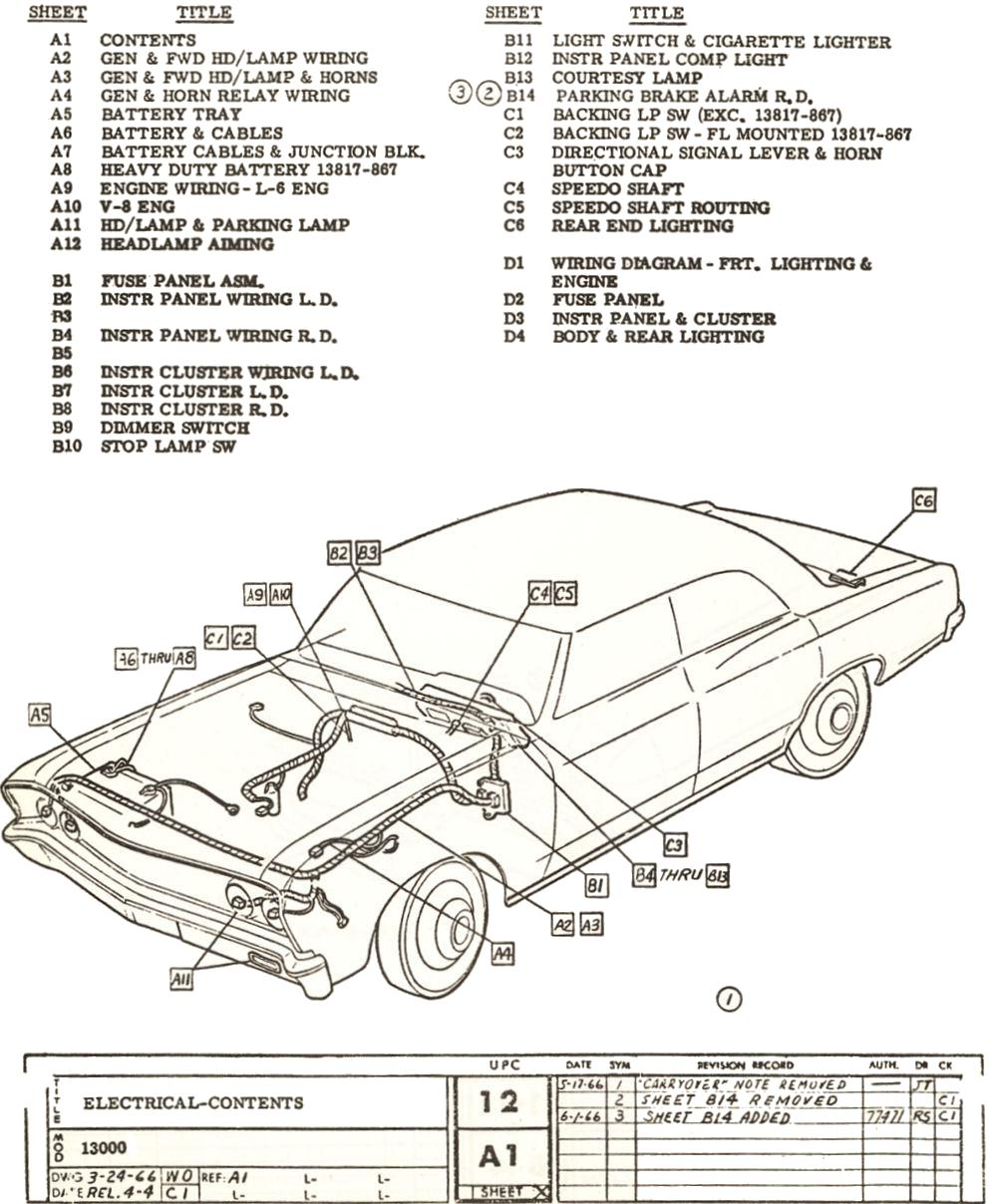 1967 CHEVELLE FACTORY ASSEMBLY INSTRUCTION MANUAL