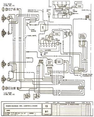 [WRG3427] 67 Chevelle Dash Wiring Diagram