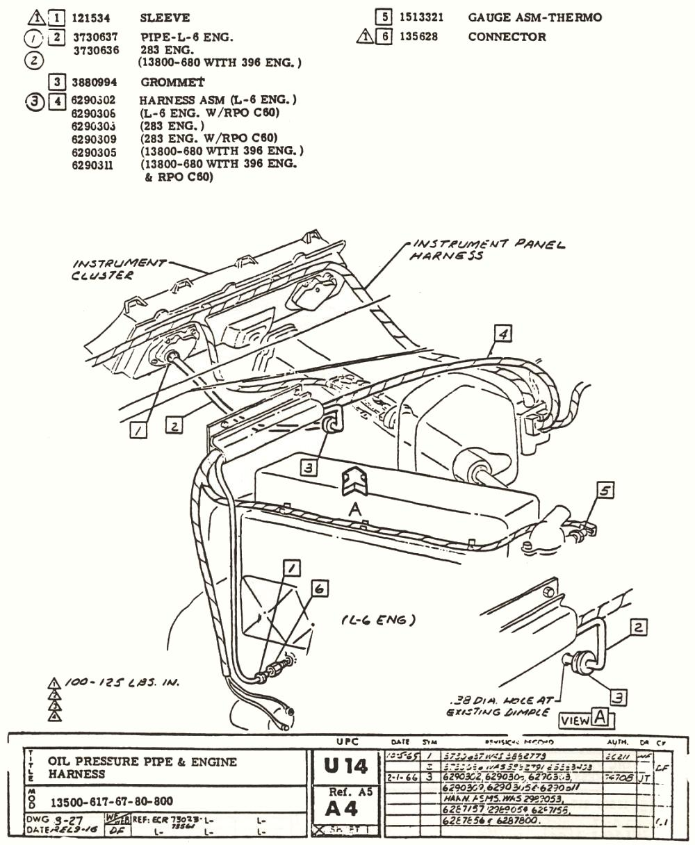 1966 CHEVELLE FACTORY ASSEMBLY INSTRUCTION MANUAL