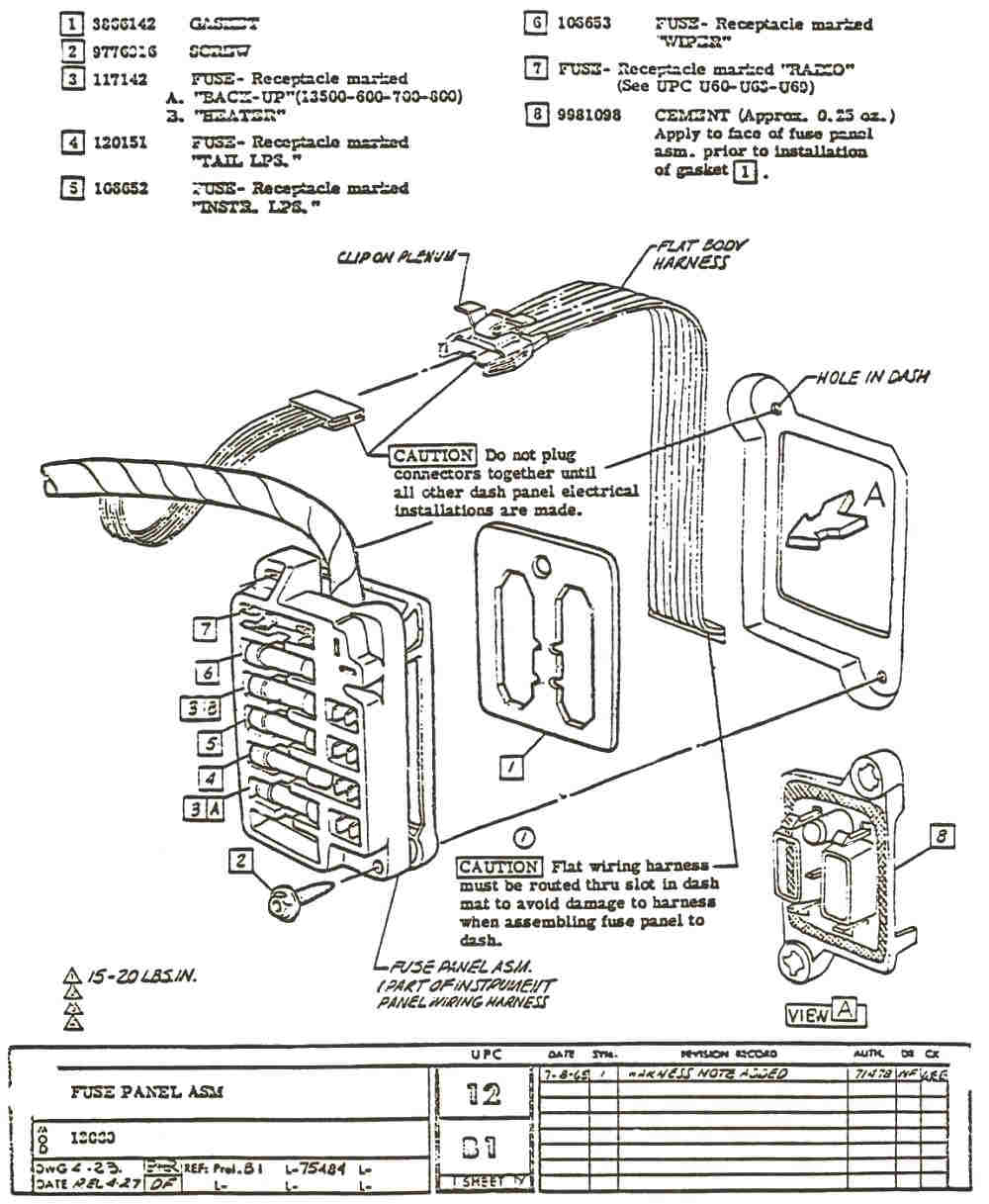 hight resolution of 76 chevy fuse box for 1966 chevy truck fuse panel diagrams 1966 chevelle factory assembly instruction manual