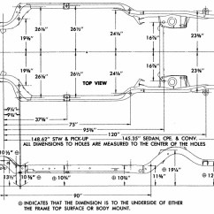 1953 Chevy Truck Wiring Diagram For A Chevelle Frames