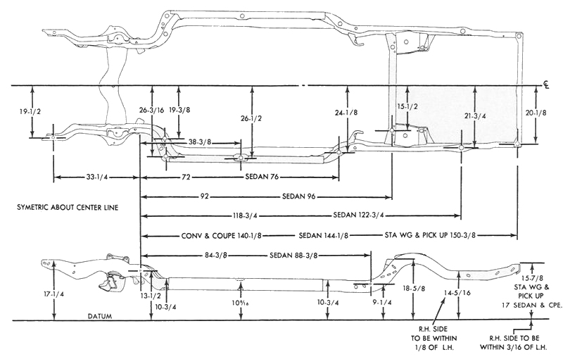 72 ford f100 wiring diagram rails sailboat rigging parts chevelle frames