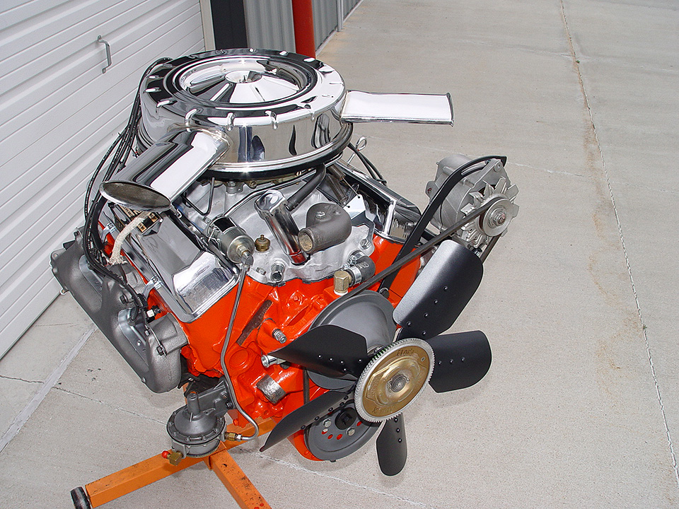 Chevelle Original Malibu Engine 1969 Compartment