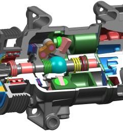 variable displacement a c compressor [ 5406 x 4156 Pixel ]