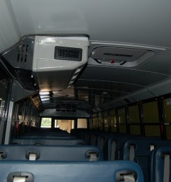 bus a c systems are typically referred to by their installed location front mid and rear this mid unit hangs from the ceiling while the rear unit is  [ 3008 x 2000 Pixel ]