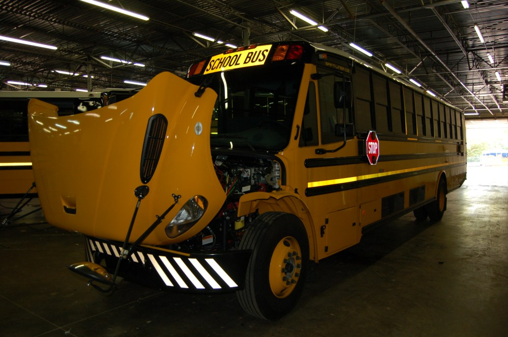 medium resolution of air conditioned school buses can be found throughout north america usually it s only mandated for special needs buses but with high temperatures and