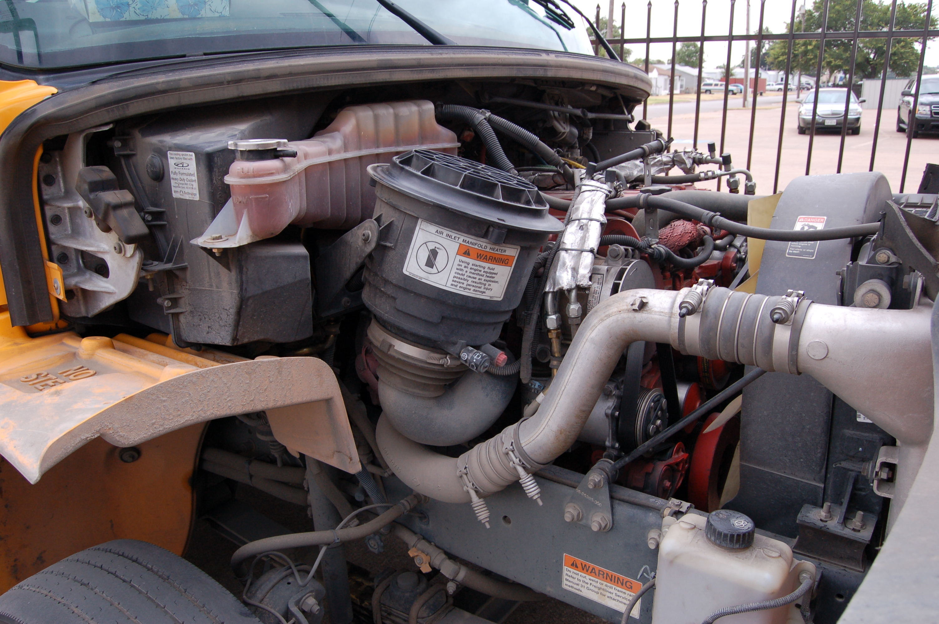 bus engine compartment diagram fisher plow repair manual cdl pre trip