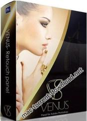Venus retouch panel for photoshop icon