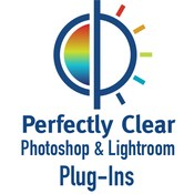 Perfectly clear for photoshop and lightroom logo icon