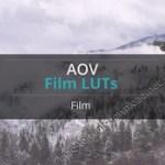 aov film luts pack 12 premium video luts win8 mac