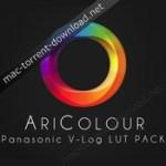 aricolour panasonic v log luts pack winmac