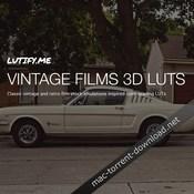 Lutify me vintage films 3d luts icon