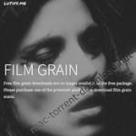 lutify me film grain luts win8 mac