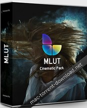 Motionvfx mlut cinematic pack icon